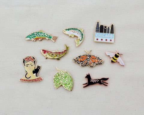 wildship studio enamel pins