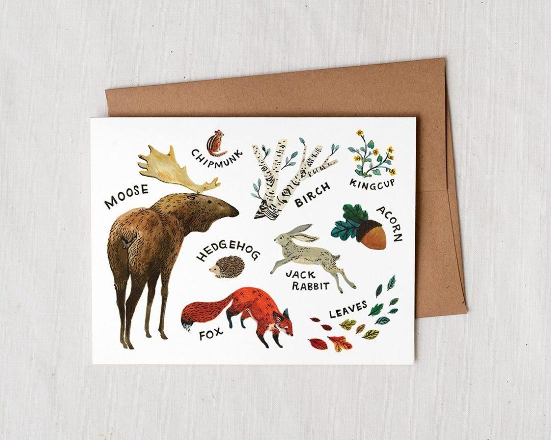Woodland Animals Wildship Studio
